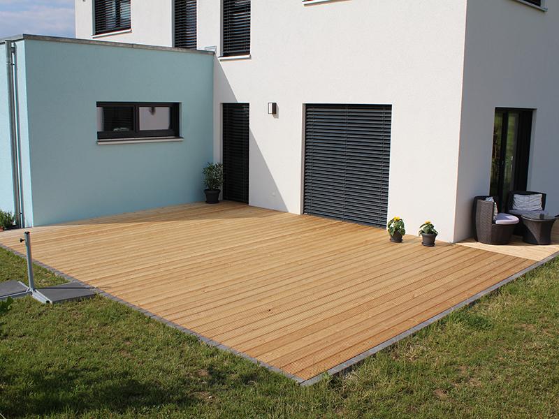 terrasse in sib l rche schreinerei rieblinger. Black Bedroom Furniture Sets. Home Design Ideas